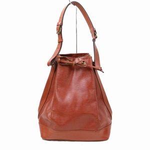 Auth Louis Vuitton Noe Epi Bag Browns #905L13